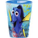 Disney Nemo und Dory Glas, Kunststoff 260 ml