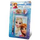 Írószer szett (4 db-os) Disney Frozen, Jégvarázs