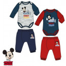 Baby Trousers +  Body Set Disney Mickey 6-24 Months