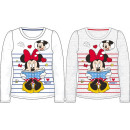 T-shirt long pour enfant, haut Disney Minnie 104-1