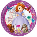wholesale Party Items: DisneySofia the First, Sofia Paper Plate 8 pcs
