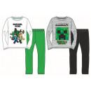 Minecraft dzieciak jest długi piżama 6-12 lat