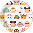 wholesale Gifts & Stationery: Disney Tsum Tsum Plate 8 pcs 23 cm