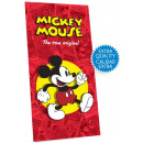Disney Mickey Velor bath towel, beach towel