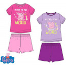 wholesale Sleepwear: Kid Short Sleeve pyjamas Peppa Pig 3-8 Years