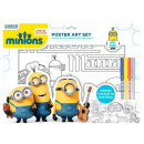 wholesale Licensed Products:Minions Coloring Kit