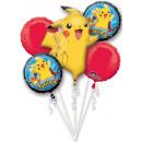 Palloncini Foil Pokémon Set 5 pezzi
