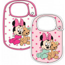 babero del bebé Disney Minnie