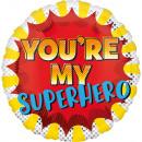 You'Re My Superhero, Te vagy a Hősöm Fólia lufi 43