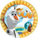 Disneyfrozen , Talerz papierowy Ice Magic 8 szt. 2