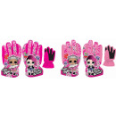 LOL Surprise children's ski gloves