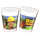 Bob the Builder , Bob, the Master Plastic Cup 8 pc