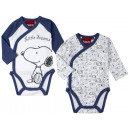 Baby body, combo shirt Snoopy (50-62)