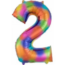 Großhandel Geschenkartikel & Papeterie: Riesige Anzahl Folienballons 83 * 55 cm