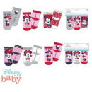 DisneyMinnie Baby socks 0-12 months