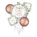 Hochzeit, Hochzeitsfolienballons Set à 5 Stück