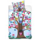 Children's Bedding Owl, Owl 100 × 135cm, 40 ×