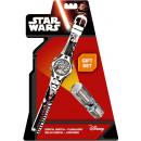 Flashlight + LED digital watch Star Wars