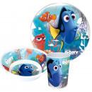 Vaisselle, ensembles de mélamine de Disney Nemo et