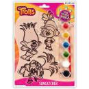 Trolls suncatcher - Paintable ornaments