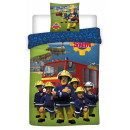 Sam the firefighter Children's bedding cover 1