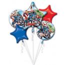 Avengers , Revenge Foil Balloons Set of 5