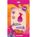 Trolls , Trolls 5 pcs (hairpin, ring, necklaces