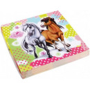 wholesale Gifts & Stationery: Horse, The Horses napkin 20 pcs