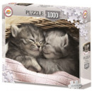 Cat puzzle 1000 pieces