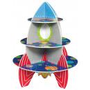 Großhandel Auflauf- und Backformen: Weltraum Cupcake, Muffin Stand