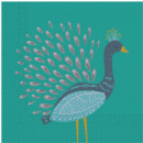 Peacock, Peacock Napkin 20 Sztuk