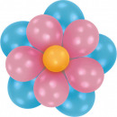 Flower balloon, balloons 16 pcs