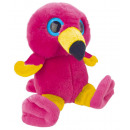 wholesale Dolls &Plush: Flamingo Plush figurine 15 cm