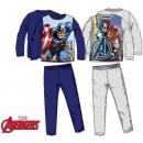 nagyker Ruha és kiegészítők: Gyerek hosszú  pizsama Avengers, Bosszúállók 4-10 é