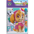 Laptops + 6 color pen Paw Patrol, Paw Patrol