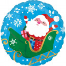 Santa Claus, Santa Foil Balloons 43 cm