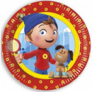 Noddy Paper Plate 8-delig 23 cm