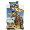 Dinosaur bedding 140 × 200cm, 70 × 90 cm