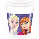 Disney frozen , Ice Magic plastikowy kubek 8 szt