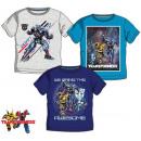 Gyerek póló, felső Transformers 3-8 év