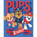 wholesale Licensed Products: Paw Patrol fleece Duvert 130 * 170 cm