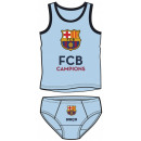 T-shirt + onderstel FCB, FC Barcelona 4-10 jaar