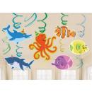 wholesale Business Equipment: Ocean, Ocean  Ribbon decoration 12 pcs set