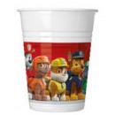 Paw Patrol , Manch Tournament Plastic cup 8 pcs 20