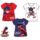 Miraculous Ladybug kids short t-shirt, top 4-8 yea