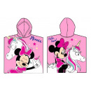 Serviette de plage Disney Minnie poncho 50 * 100cm