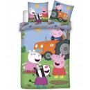 Pościel dla dzieci Świnka Peppa 100 × 135 cm