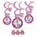 Disney Sofia , Sofia Ribbon decoration 6 pcs
