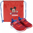 DisneyMickey Street shoes with gym bags 21-27