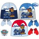 Baby cap + glove kit Paw Patrol